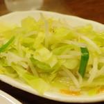 来々軒 - サービスの温野菜