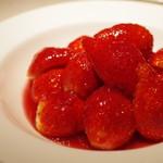 コート ドール - イチゴのスープ ワイン風味