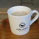 カフェ アルマ - ドリンク写真:カフェオレ