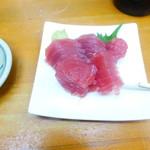 魚介 - 鮪のお造り