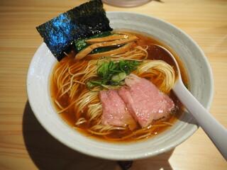 麺屋 さくら井 - らぁ麺(醤油)780円