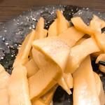 麺や 京水 - おつまみメンマ