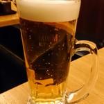 とりんと - 生ビール