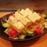 京都きん家 - 京豆腐の豆腐サラダ