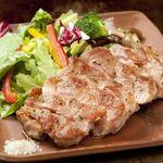 京都きん家 - もち豚ステーキ
