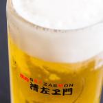 焼肉清左ヱ門 - ドリンク写真:生ビール