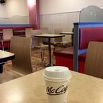 マクドナルド - 「ホットコーヒー」(100円)。正式な名称は未だ把握していない。