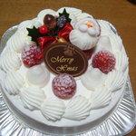 ラリック - 料理写真:クリスマスケーキ