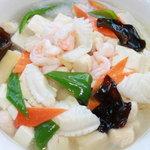 刀削麺・火鍋 XI'AN - イカの特製塩味