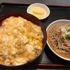 つる庵 - 料理写真:カツ丼セット。