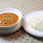 サフラン 池袋 - スープカレーセット