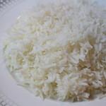 サフラン 池袋 - バスマティライス(インディカ米)