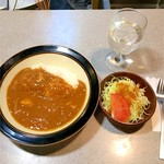 勝鬨亭 - 日本風カレー 半ライス