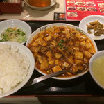 南国亭 - 麻婆豆腐定食