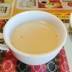インド&アジアンレストラン アラティ - 豚骨ラーメンのスープみたいな味