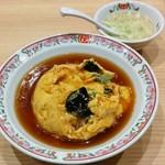 餃子の王将 - 天津飯(518円)
