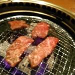 米沢亭 - [料理] 炭火焼肉 ①