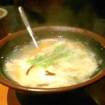 米沢亭 - [料理] 玉子スープ アップ♪w ②