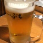 ホルモン焼肉ぶち - 生ビール