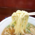 上郷サービスエリア(上り線) フードコート - モチっと平打ち太麺