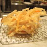 天ぷらまきの - 野菜のかき揚げ
