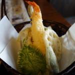白州手打ち蕎麦 くぼ田 - 天ぷら