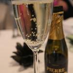 トラットリア イル フィオレット - ノンアルのシャンパン