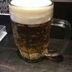 サ嘉ダチ - 生ビール(400円)