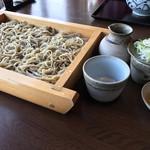 武双庵 - 料理写真:3合舟盛
