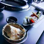 61977328 - 前菜・おぼろ豆腐