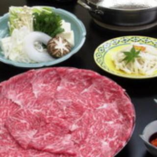 黒毛和牛を使ったお肉料理