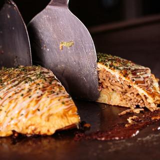 圧倒的人気の広島焼☆20年以上続いた伝統の味を受け継ぎました