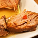 お米のじゅーす 最 - 赤ワインで煮込んだ豚の角煮