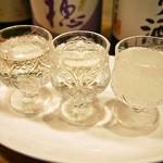 お米のじゅーす 最 - 日本酒呑み比べ