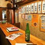 お米のじゅーす 最 - 店内(立ち飲みカウンター)