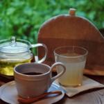 カマクラ 24セッキ - ドリンク写真:オーガニック原材料のオリジナルドリンクほかコーヒーや紅茶、ハーブティーもすべてオーガニック。