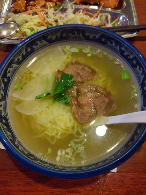 東京穆斯林飯店 - □牛肉塩ラーメン 750円(内税)□