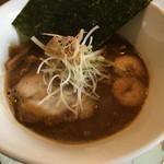 麺つし馬 - 極海老魚介(味噌)並