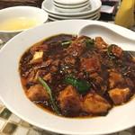 野田焼売店 - 激辛麻婆丼 激辛といえどちょうど良い辛さでおいしい♡接客良いです!