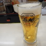 餃子の王将 - 生ビール中ジョッキ