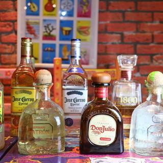 メキシコといえばやっぱりテキーラ!