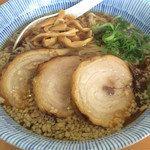 中華そば マルト屋 - 中華そば(しょうゆ):750円 肉増し:+250円