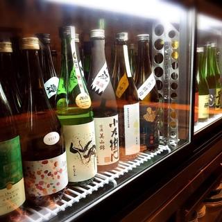 他には無い日本酒のラインナップ