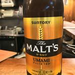 徳田酒店 - 瓶ビールはモルツの大瓶です(^o^)