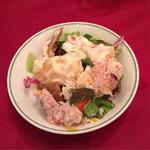 61988061 - 尾付き海老の蟹マヨネーズソース
