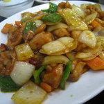 美食苑 - 辣子鶏丁アップ