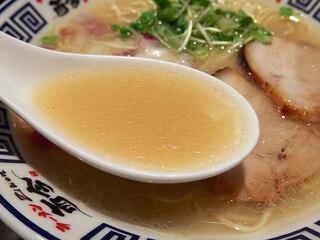 麺道 而今 総本家 - 天然塩の極上あさりそば(850円)