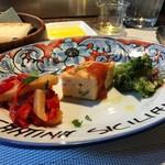 カンティーナ シチリアーナ - Vランチ(1100円)の前菜