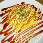 オムライス&cafe STYLE - ケチャップのオムライス、マヨネーズトッピング
