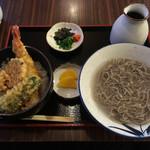 61996382 - ミニ天丼と釜揚げ蕎麦